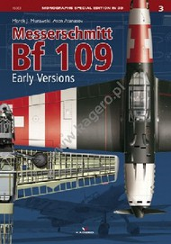Kagero Books   N/A Monographs Special Edition 3D: Messerschmitt Bf.109 Early Versions KAG96003
