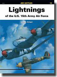 Kagero Books  N/A Lightnings US 15th Army Air Force KAG12012