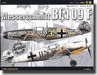 Kagero Books   N/A Messerschmitt Bf.109F (NO DECAL) KAG15019