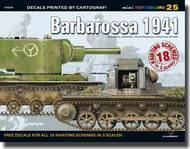Topcolors: Barbarossa 1941 (18pgs) #KAG15025