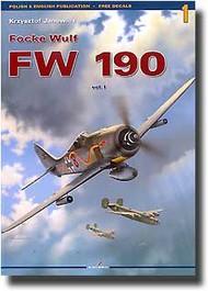 Kagero Books   N/A Focke Wulf Fw.190 Vol.1 KAG3001