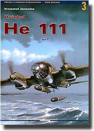 Kagero Books   N/A Collection - Heinkel He.111 Vol.1 KAG3003