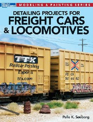 Kalmbach Books   Modeling & Painting Detailing Projects for Freight Cars & Locomotives (D)<!-- _Disc_ --> KAL12477