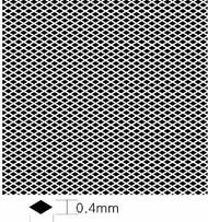Diamond Pattern Mesh B 0.25mm x 0.4mm (Photo-Etch) #KAOKA4