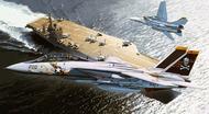 F-14A Tomcat Jolly Rogers Fighter (Plastic Kit) #KAOKP72001A