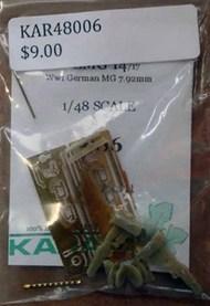 Parabellum LMG 14/17 Late (2 guns) #KAR48006