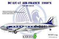 Douglas DC-3 Air France (very limited Roden kit with new decals) #KY14412
