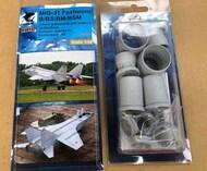 Mikoyan MIG-31B/MiG-31BS/MiG-31BM/MiG-31BSM Foxhound Exhaust Nozzles #KATK4815