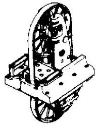 KEYSTONE LOCOMOTIVE  HO Bandsaw 6' (Re-Issue) KEY34