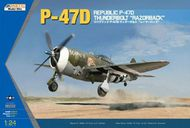 Kinetic Models  1/24 P-47D Thunderbolt Razorback YES! 1/24! KIN32008