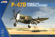 Kinetic Models  1/24 P-47D Thunderbolt Razorback KIN3208