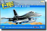 Kinetic Models  1/48 F-16AM Block 15 NATO Viper Fighting Falcon KIN48002