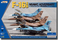 Kinetic Models  1/48 F-16AB Naval Strike Air Warfare Center (NSAWC) Adversary Aircraft KIN48004