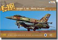 Kinetic Models  1/48 F-16I Sufa (Storm) Israeli Air Force Two-Seater Aircraft KIN48006