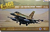 Kinetic Models  1/48 F-16D Israeli Air Force Advanced Viper Aircraft w/Dorsal Spine KIN48009
