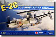 Kinetic Models  1/48 E-2C Hawkeye JASDF 50th Anniversary Aircraft KIN48014