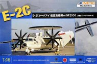 Kinetic Models  1/48 Grumman E-2C Hawkeye JASDF 50th Anniversary scheme upgraded kit with NP2000 Propeller KIN48014A