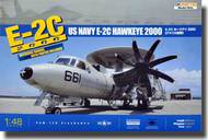 Kinetic Models  1/48 E-2C Hawkeye 2000 US Navy Early Warning Aircraft KIN48016