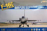 Kinetic Models  1/48 F-16C Block 52 Hellenic (Greek) AF Fighting Falcon Aircraft with 600gal Fuel Tank KIN48028