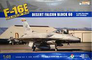 Kinetic Models  1/48 F-16E Block 60 Single-Seater Desert Falcon Aircraft KIN48029