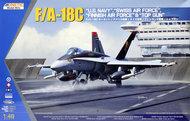 Kinetic Models  1/48 McDonnell-Douglas F/A-18C Hornet: US Navy, Sw KIN48031