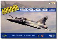 Kinetic Models  1/48 Mirage 2000D/N Multi-Role Bomber KIN48032