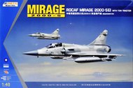 Kinetic Models  1/48 ROCAF Mirage 2000-5Ei with Tow Tractor KIN48045
