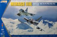 Kinetic Models  1/48 Mirage IIIE/O/R/RD/EE/EA KIN48050