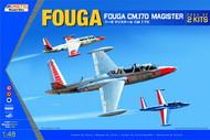 Kinetic Models  1/48 Fouga CM.170 Magister (pack of 2 kits) KIN48051