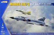 Kinetic Models  1/48 Mirage IIIEBR / IIIEA / IAI M5 Dagger South America KIN48052