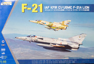 Kinetic Models  1/48 IAF KFIR C1 / USMC F-21A KIN48053