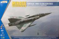 Kinetic Models  1/48 Mirage IIIBE/D/DE/DS/D2Z KIN48054