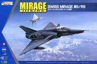 Kinetic Models  1/48 Swiss Mirage IIIS/RS KIN48058