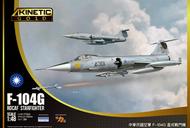 Kinetic Models  1/48 Lockheed F-104G Starfighter ROCAF KIN48077