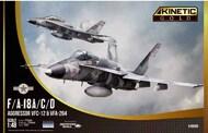 Kinetic Models  1/48 F/A-18A/B/C/D Hornet Aggressor VFC-12 & VFA-204 KIN48088
