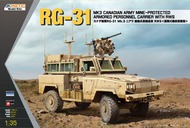 Kinetic Models  1/35 RG-31 MK3 Canadian Army with RWS KIN61010
