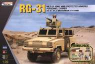Kinetic Models  1/35 RG-31 Mk 3 Army Mine-Protected APC KIN61012