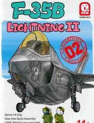 Kitty Hawk Models  1/32 Q-Men F-35B Lightning II Cute Plane KTY1002