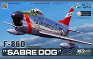 Kitty Hawk Models  1/32 F-86D Sabre Dog USAF Fighter KTY32007