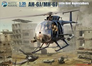 Kitty Hawk Models  1/35 AH6J/MH6J Little Bird Nightstalkers Helicopter (New Tool) (Jan 2018) KTY50003