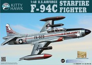 Kitty Hawk Models  1/48 F-94C Starfire USAF Fighter KTY80101