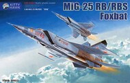 Mikoyan MiG-25RB/RBS Foxbat with upgrade resin part KTY80113