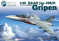 Kitty Hawk Models  1/48 SAAB JAS-39B/D Gripen Fighter KTY80118