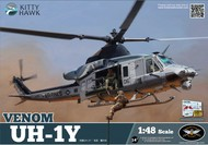 Kitty Hawk Models  1/48 UH-1Y Venom Attack Helicopter KTY80124