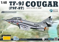 TF9J (F9F8T) Cougar USN Fighter #KTY80129