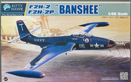 Kitty Hawk Models  1/48 F2H-2/2P Banshee Jet Fighter KTY80131