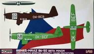Benes-Mraz Be-50 Beta Minor Czechoslovak. Racer Prototypes #KOR48024