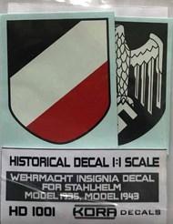 Kora Models  1/1 Decal Wehrmacht Insignia (1935, 1943) KORAHD1001