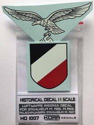 Kora Models  1/1 Decal Luftwaffe Insignia (1935, 1937, 1943) KORAHD1007