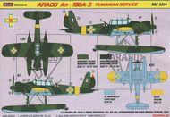 Kora Models  1/32 Arado Ar-196A-3 (Romanian Service) KORD3214